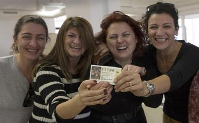 Málaga recibe el mayor Gordo de su historia