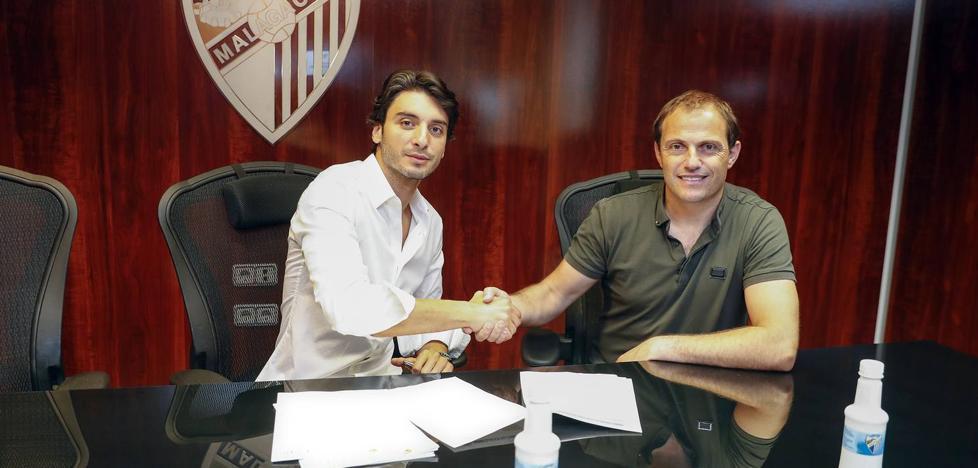 El Málaga hace oficial el fichaje del meta turco Cenk Gonen