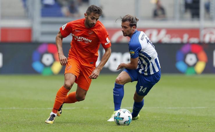 El Málaga cae ante el Duisburgo, de la Segunda División alemana
