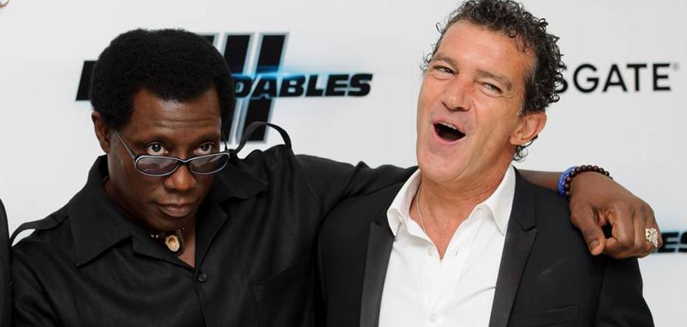 Antonio Banderas quiere contagiar su malaguismo a Tom Hanks y Wesley Snipes