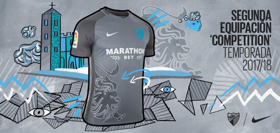 Del boquerón al león en la camiseta del Málaga