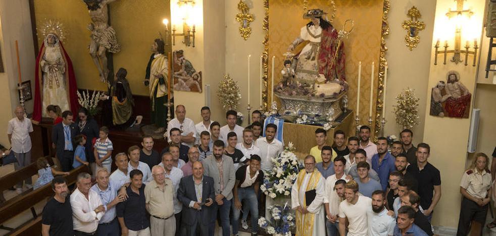 El Málaga cumple con la Divina Pastora