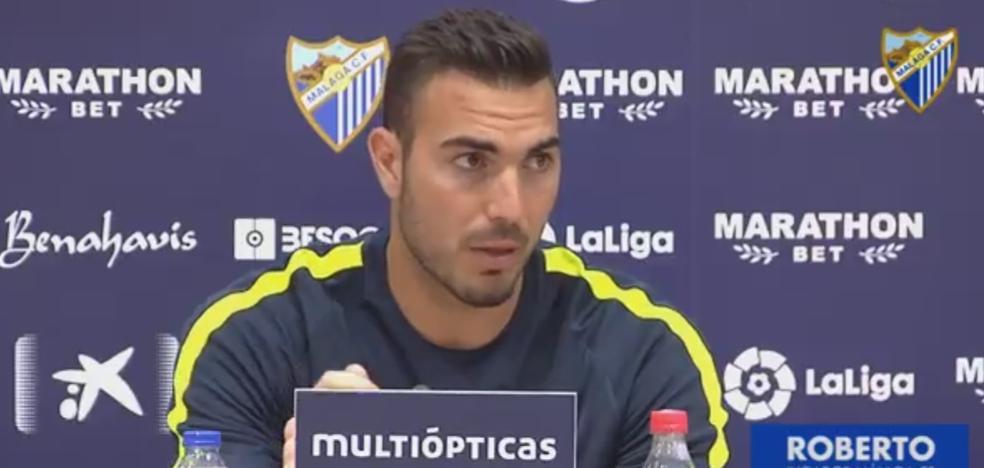 Roberto: «El equipo tiene muchas ganas de volver a competir otra vez, queremos revertir la mala racha»