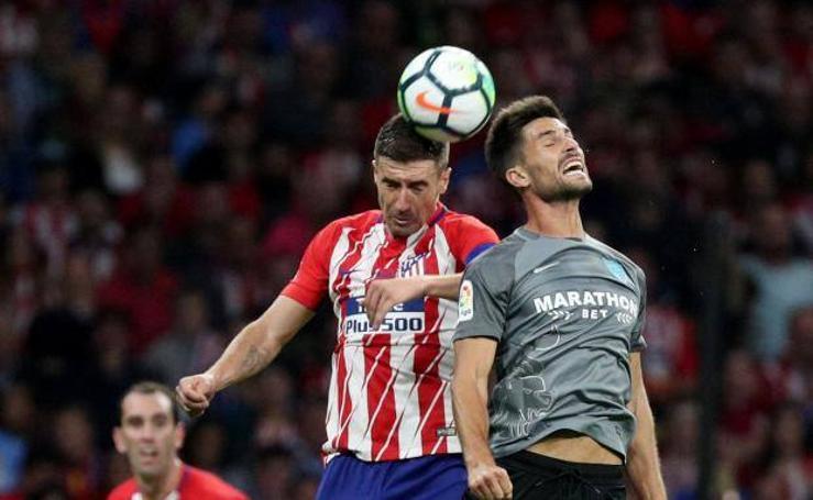 El Atlético de Madrid-Málaga, en fotos