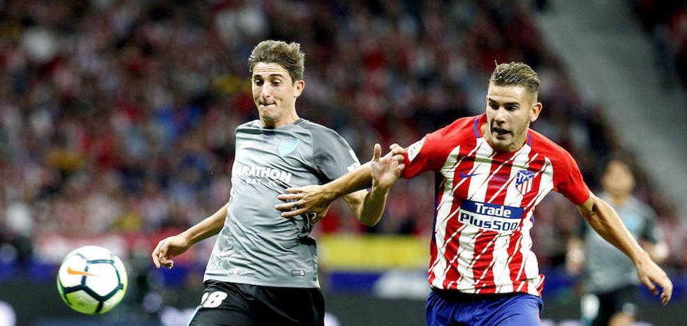 El Málaga cae ante el Atlético de Madrid (1-0)