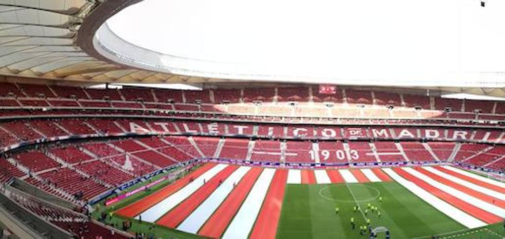 Ambiente sin precedentes para el estreno del Wanda Metropolitano