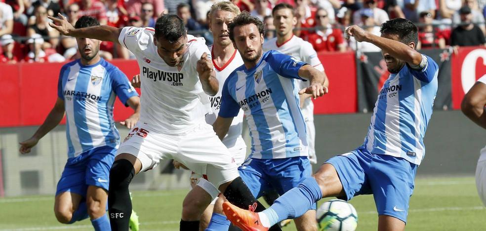 El Málaga, ni contra los suplentes