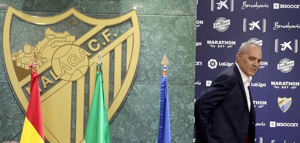 Husillos: «Puedo garantizar que Míchel no se irá del Málaga si se pierde ante el Leganés»