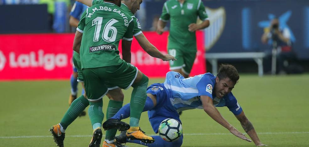 El Málaga agrava su crisis tras perder frente al Leganés (0-2)