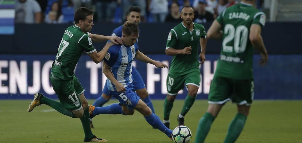 La derrota del Málaga frente al Leganés, en fotos