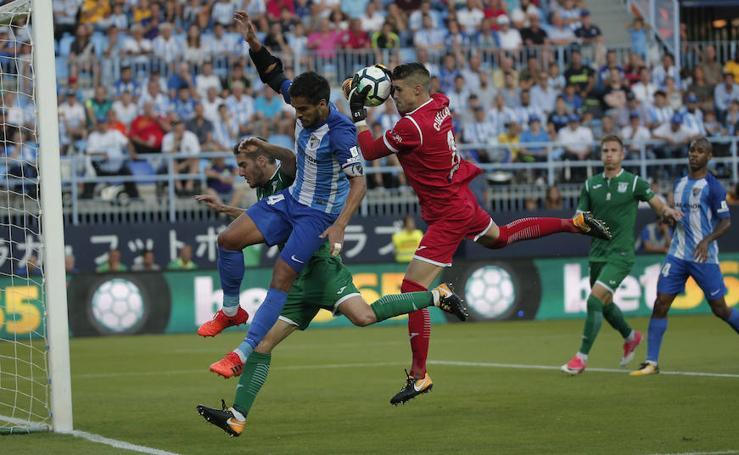 El Málaga acaba humillado por el Leganés