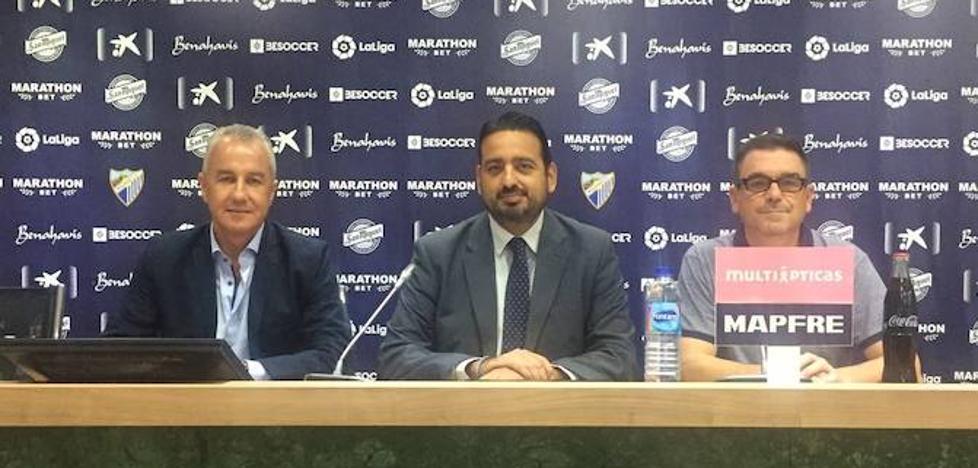Celebran en La Rosaleda una jornada para clubes de Segunda B y Tercera