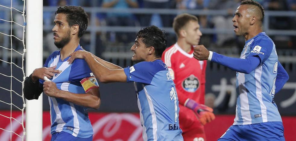 El Málaga resucita a tiempo (2-1)