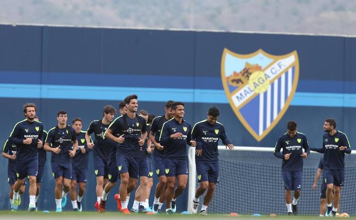 El Málaga prepara su encuentro contra el Villarreal