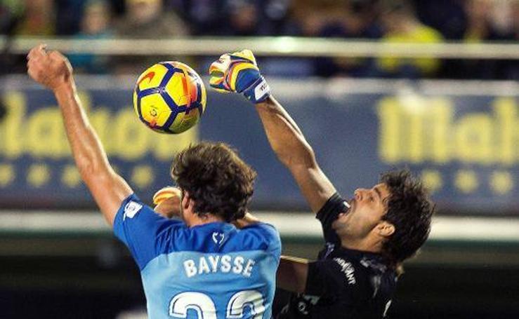 Fotos del partido Villarreal-Málaga