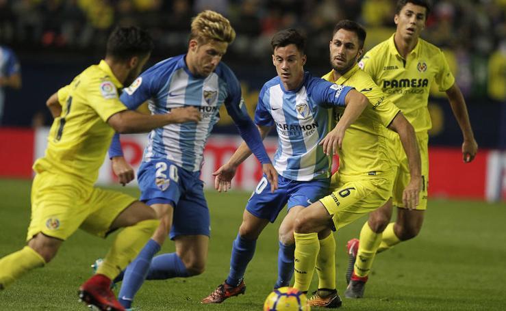 El Villarreal-Málaga, en imágenes