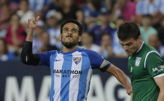 Competición rechaza las alegaciones del Málaga por la tarjeta a Recio