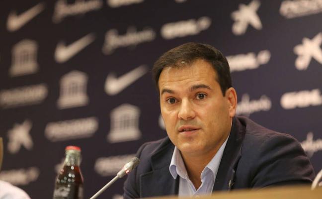 Vicente Casado vuelve hoy al palco de La Rosaleda como director de 'marketing' de la Federación de Fútbol
