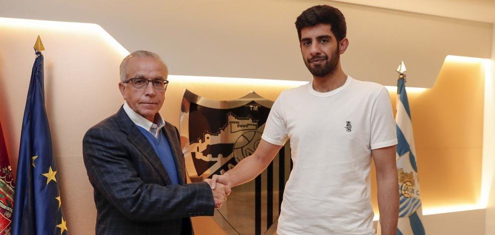 El Málaga hace oficial el fichaje de Tapia
