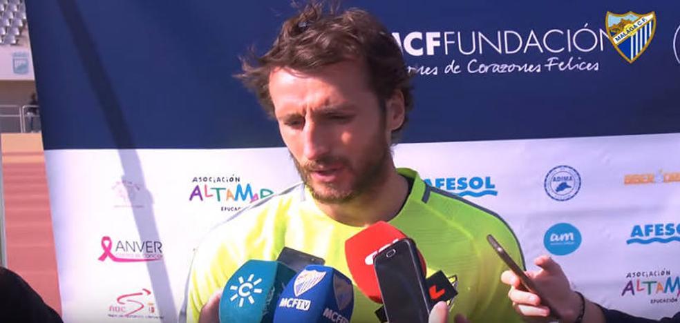 Baysse: «Hemos tenido dos semanas para trabajar y hacer un buen partido ante el Deportivo»