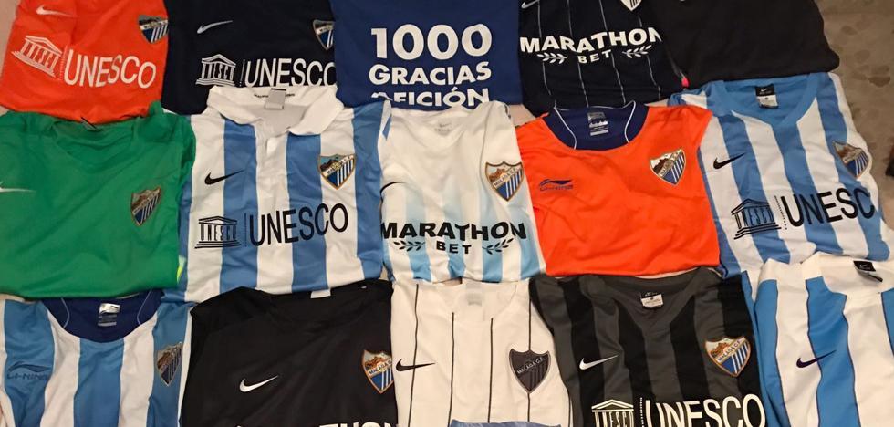 Las seis camisetas del Málaga que todo aficionado malaguista debería tener