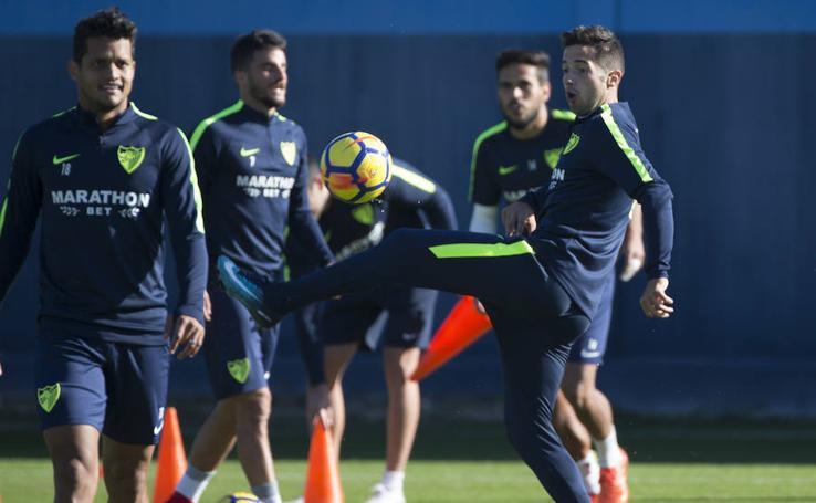 Las mejores fotos del entrenamiento del Málaga de este viernes