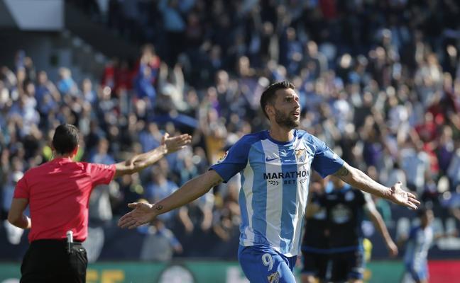El Málaga no recorta distancias