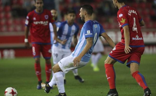 Los abonados entrarán gratis al Málaga-Numancia de la Copa del Rey