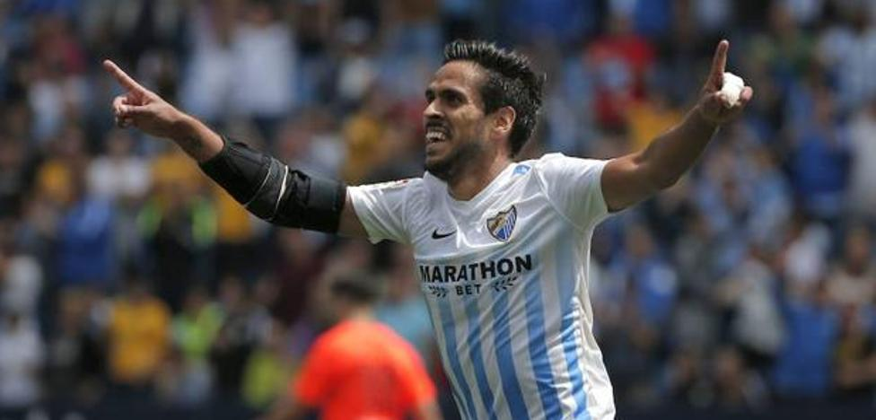 Recio, la única novedad en la lista del Málaga CF