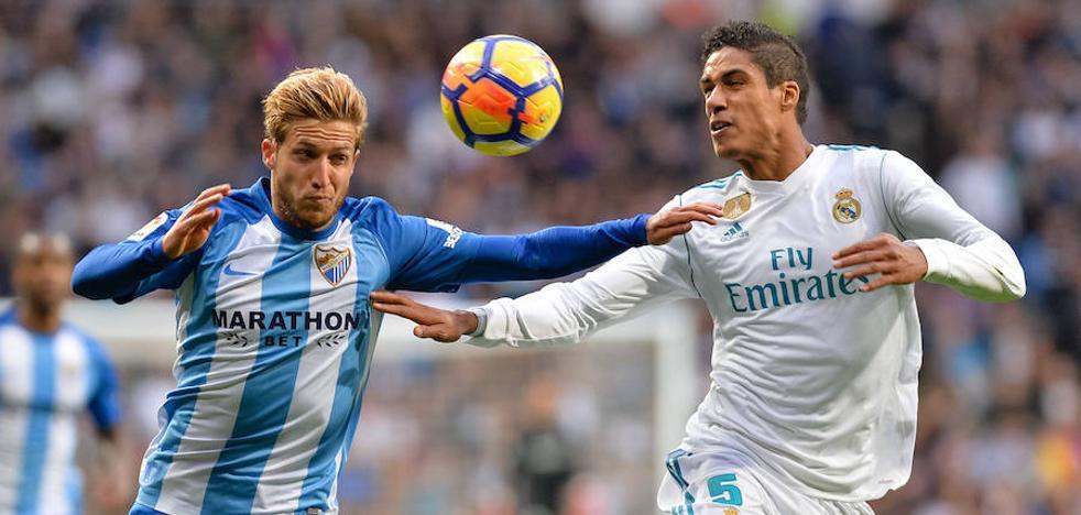 El Málaga, a cinco puntos de los puestos de permanencia
