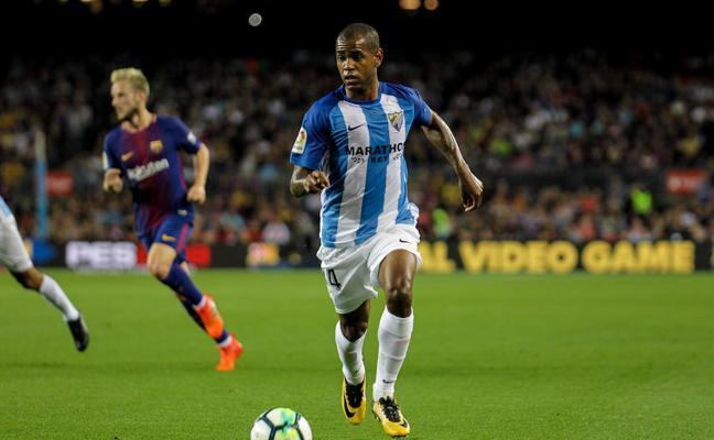 Rolan no viaja con el Málaga a San Sebastián para jugar contra la Real Sociedad