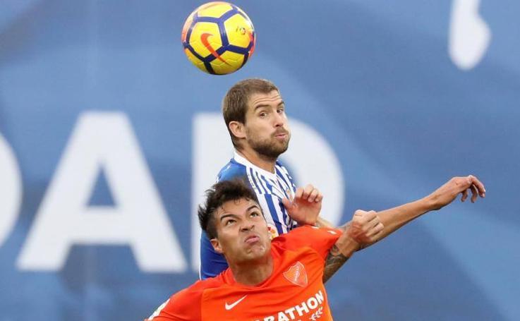 Real Sociedad- Málaga, en imágenes