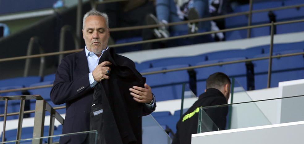 Husillos: «El Málaga es el principal candidato para ir hacia arriba»