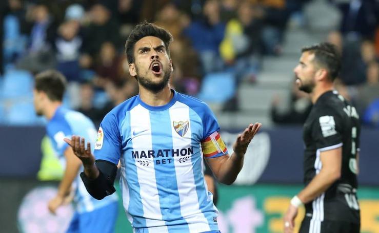 Las mejores imágenes del Málaga-Betis