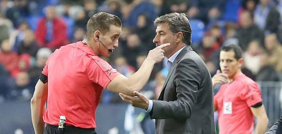 ¿Irá a la 'nevera' el árbitro del Málaga-Betis?