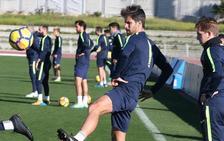 Adrián ya se entrena con el grupo, aunque reaparecerá en Getafe