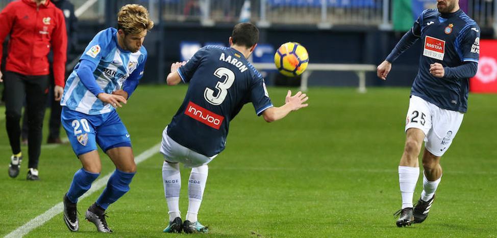 El Málaga y Míchel, sin crédito ni soluciones (0-1)