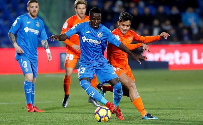 El Málaga suma en Getafe una nueva derrota (1-0)