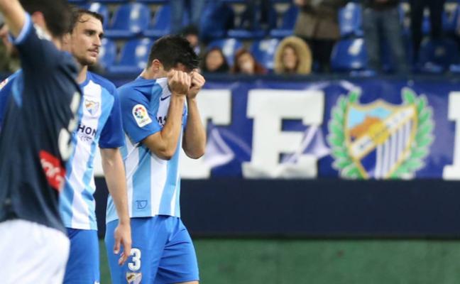 El Málaga pierde en todos los escenarios