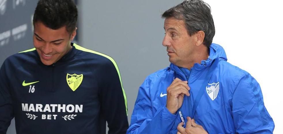 Así quiere José González que juegue el Málaga