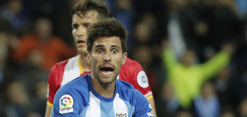El Málaga no se reengancha