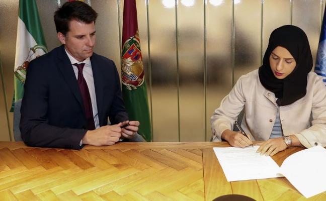 El Málaga y Bilba firman el acuerdo para la construcción de La Academia