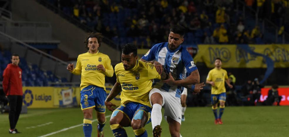 El Málaga se deja media permanencia en siete jornadas