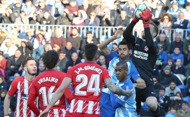 El Málaga alcanza dieciséis encuentros sin marcar