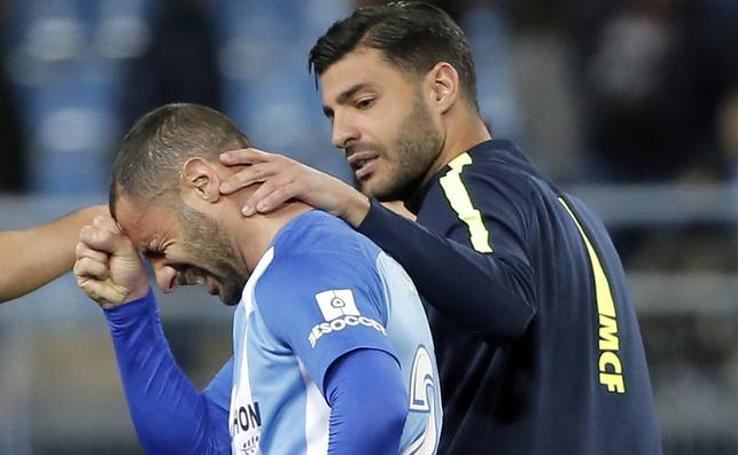 Derrota del Málaga ante el Valencia en La Rosaleda (1-2)