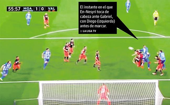 Otra jugada polémica para unirse a la recopilación de quejas del Málaga