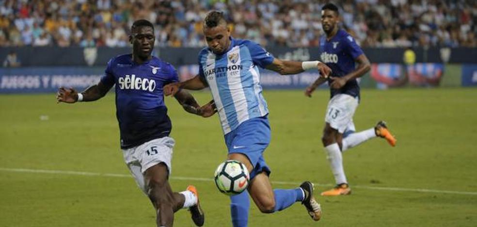 El Málaga alega por las dos amarillas de En-Nesyri para que pueda jugar el derbi