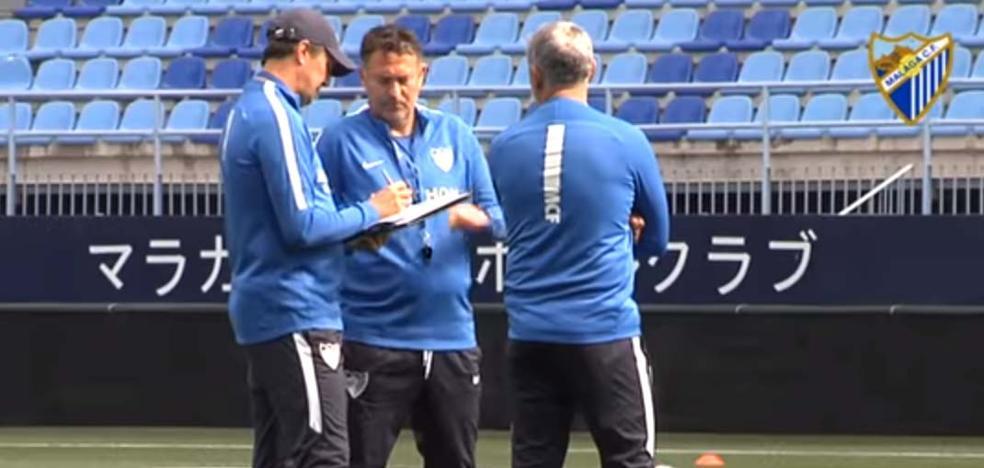 Jose, entrenador del Málaga: «El resultado de ayer nos hace estar vivos»