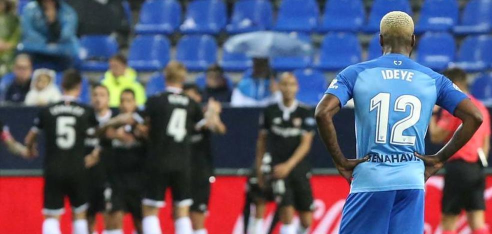 Un Málaga abonado a las derrotas por la mínima
