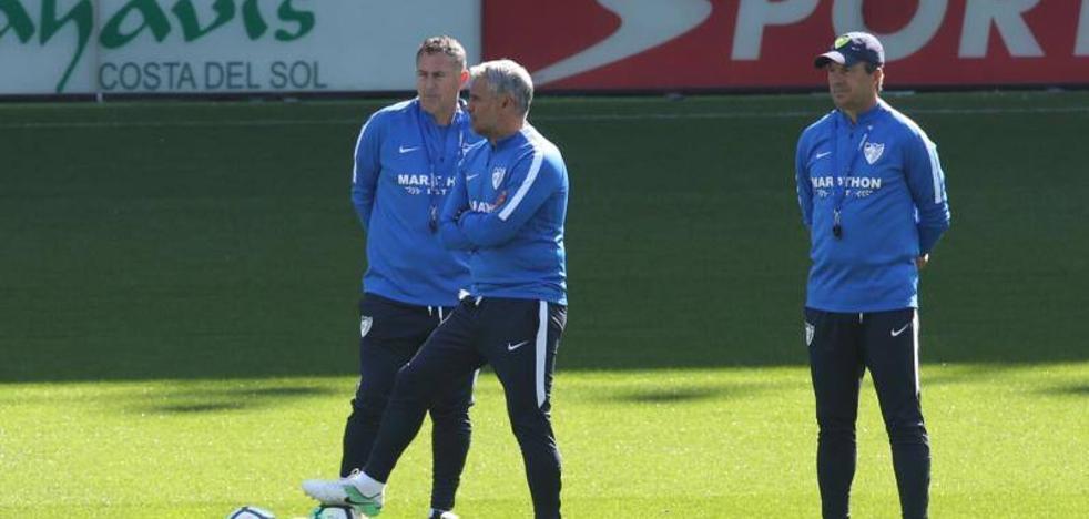 José González, entrenador del Málaga: «Muchos de los que estamos aquí le hemos ganado al Barça»